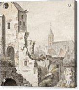 The Ruins Of Utrecht Acrylic Print