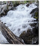The Rushing River Acrylic Print
