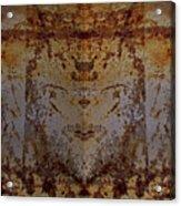 The Rusted Feline Acrylic Print