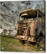The Rusting Rig Acrylic Print
