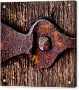 The Rusty Hinge Acrylic Print