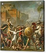 The Sabine Women Acrylic Print