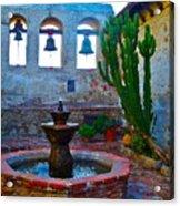 The Sacred Garden Of Mission San Juan Capistrano California Acrylic Print
