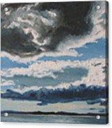 The Saintlawrence Lapocatiere Qc Canada Acrylic Print
