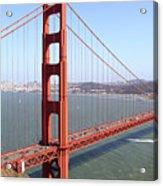 The San Francisco Golden Gate Bridge 7d14507 Panoramic Acrylic Print