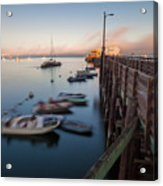 The San Luis Pier Acrylic Print