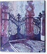 The Sant Pau Gates Acrylic Print