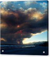 The Santa Barbara Fire Acrylic Print