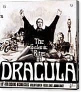 The Satanic Rites Of Dracula, Center Acrylic Print