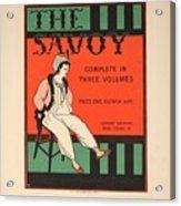 The Savoy Acrylic Print