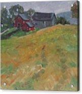 The Schneider Farm Acrylic Print