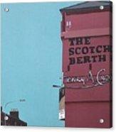 The Scotch Berth Acrylic Print