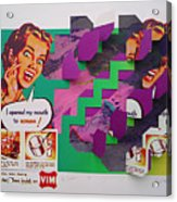The Scream 2 Acrylic Print