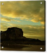 The Sea And The Rock Acrylic Print