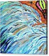 The Sea Blimps Acrylic Print