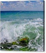 The Sea Breathes Acrylic Print