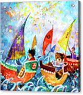 The Sea Cruise Of Tivoli Gardens Acrylic Print