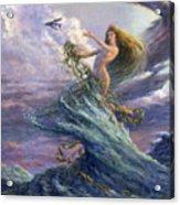 The Storm Queen Acrylic Print