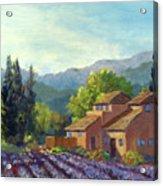 the Season Provence Acrylic Print