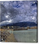 The Seasons Sandpoint Acrylic Print