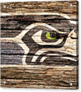 The Seattle Seahawks 2f Acrylic Print
