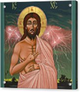 The Second Coming Of Christ The King 149 Acrylic Print