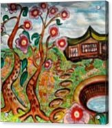 The Secret Garden Acrylic Print