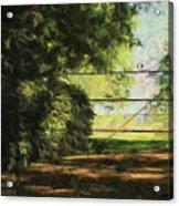 The Secret Gate Acrylic Print