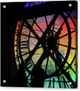 The Secret Workings Of Time Acrylic Print