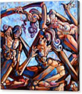The Seduction Of The Muses Acrylic Print