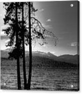 The Selkirk Mountains On Priest Lake Acrylic Print