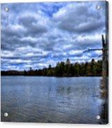 The Serenity Of Limekiln Lake Acrylic Print