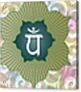 The Seven Chakras Acrylic Print