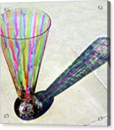 The Shadow Of Melting Colors Acrylic Print by Farah Faizal