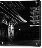The Shadow Of The Temple Acrylic Print