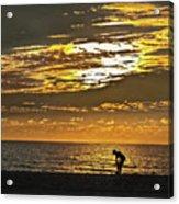 The Shell Seeker Acrylic Print