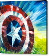 The Shield Acrylic Print