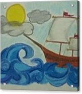 The Ship Acrylic Print