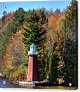 The Shoul Point Lighthouse Acrylic Print