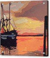 The Shrimp Boat Acrylic Print