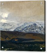 The Sierra De Guadarrama Acrylic Print