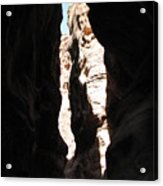 The Sig Of Petra Acrylic Print by Dawn Mathews