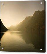 The Silent Lake Acrylic Print