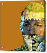The Silent Type Acrylic Print