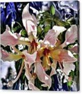 The Silk Flowers Acrylic Print