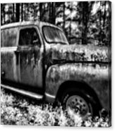 The Silver Ghost Acrylic Print