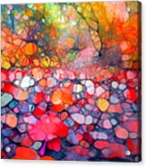 The Simple Dreams Of Fallen Leaves Acrylic Print