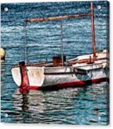 The Simple Life Mykonos Acrylic Print