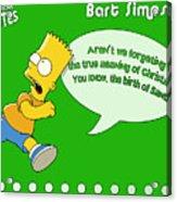 The Simpsons Acrylic Print