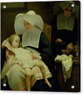 The Sisters Of Mercy Acrylic Print by Henriette Browne